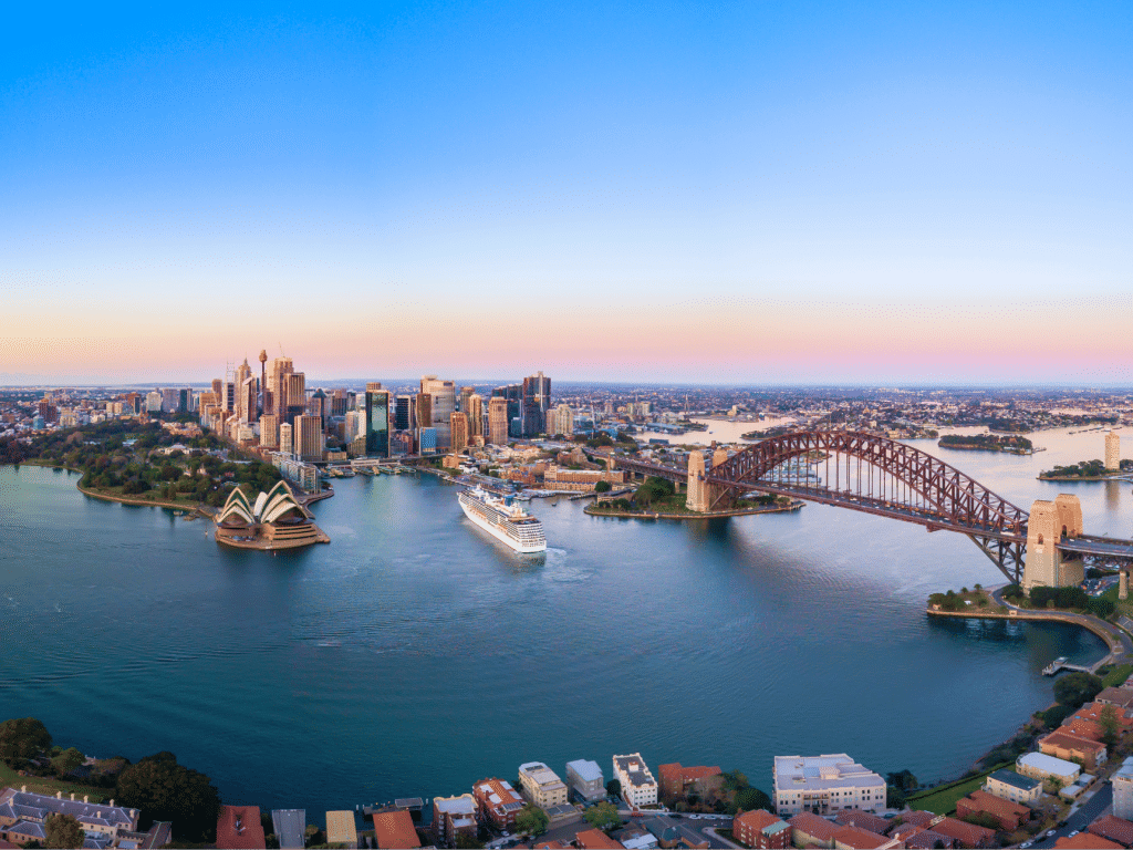 Landscape image of city (Sydney)